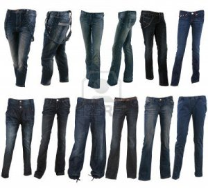 9164509-collection-of-various-types-of-blue-jeans-trousers-isolated-on-white